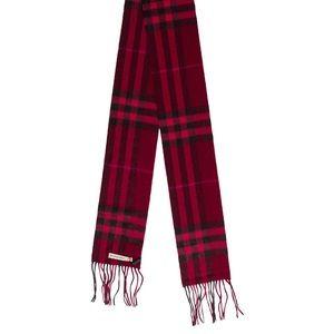 Burberry Cashmere Giant Check Scarf NWT